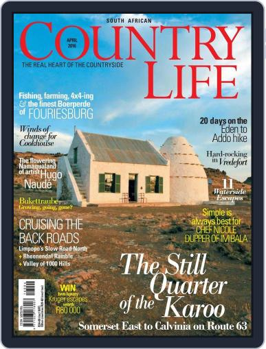 SA Country Life (Digital) March 14th, 2016 Issue Cover