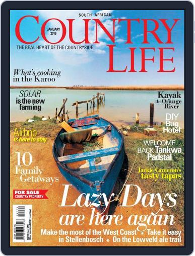 SA Country Life (Digital) December 7th, 2015 Issue Cover