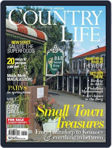 SA Country Life (Digital) September 7th, 2015 Issue Cover