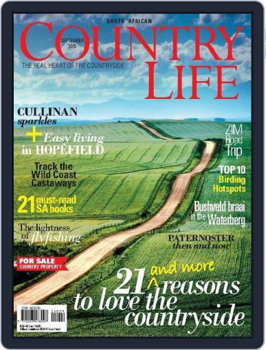 SA Country Life (Digital) September 1st, 2015 Issue Cover