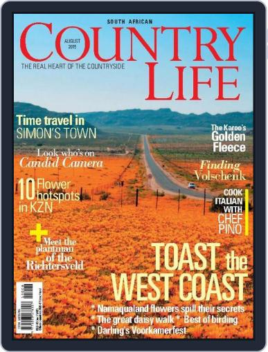SA Country Life July 11th, 2015 Digital Back Issue Cover
