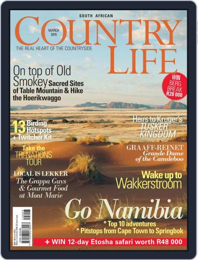 SA Country Life (Digital) February 28th, 2015 Issue Cover