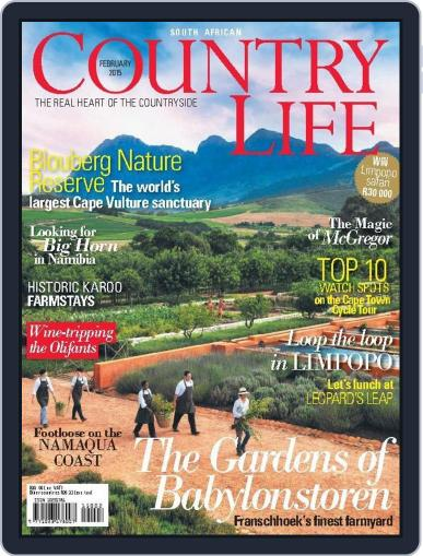 SA Country Life January 10th, 2015 Digital Back Issue Cover
