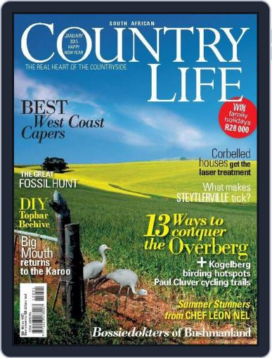 SA Country Life (Digital) December 1st, 2014 Issue Cover