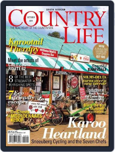 SA Country Life October 1st, 2014 Digital Back Issue Cover