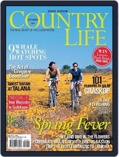 SA Country Life August 9th, 2014 Digital Back Issue Cover