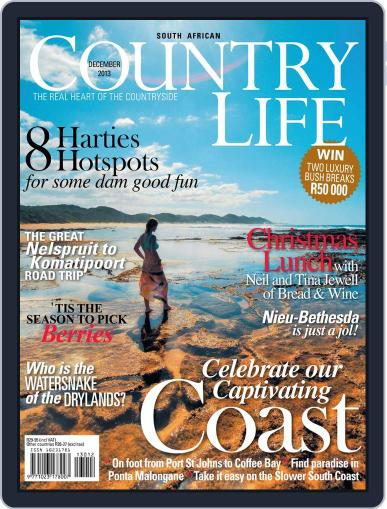 SA Country Life November 10th, 2013 Digital Back Issue Cover