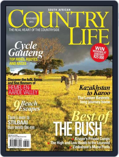 SA Country Life (Digital) October 13th, 2013 Issue Cover