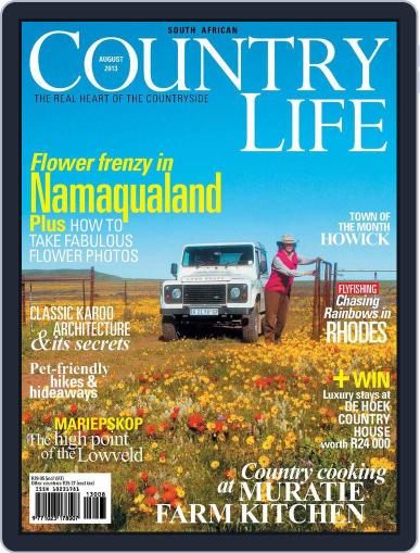 SA Country Life (Digital) July 14th, 2013 Issue Cover