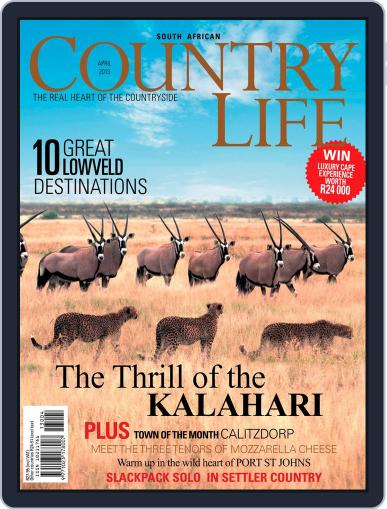 SA Country Life March 10th, 2013 Digital Back Issue Cover
