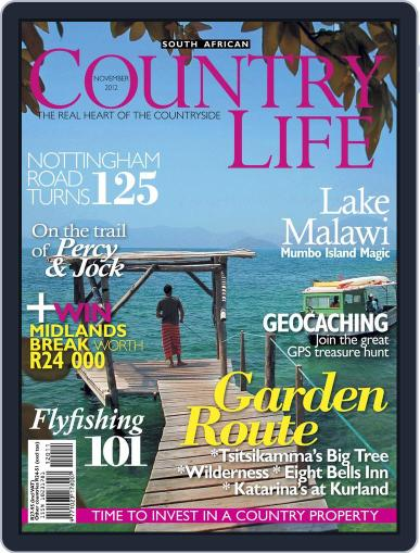 SA Country Life (Digital) October 14th, 2012 Issue Cover