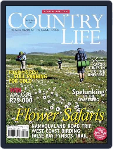 SA Country Life (Digital) August 12th, 2012 Issue Cover