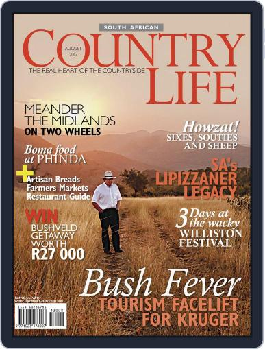 SA Country Life (Digital) July 15th, 2012 Issue Cover