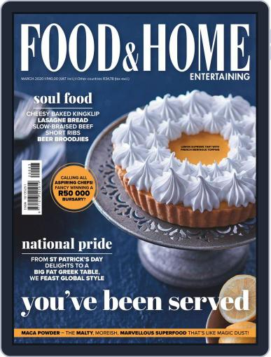 Food & Home Entertaining (Digital) March 1st, 2020 Issue Cover