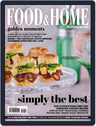 Food & Home Entertaining (Digital) February 1st, 2020 Issue Cover