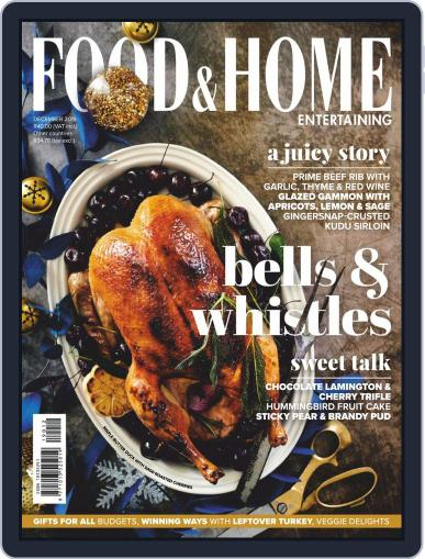 Food & Home Entertaining (Digital) December 1st, 2019 Issue Cover
