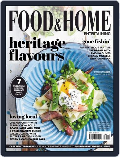 Food & Home Entertaining (Digital) October 1st, 2019 Issue Cover