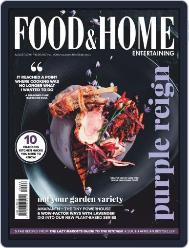 Food & Home Entertaining (Digital) August 1st, 2019 Issue Cover