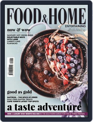 Food & Home Entertaining (Digital) April 1st, 2019 Issue Cover