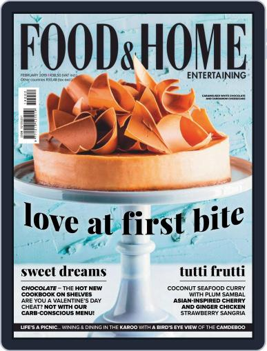 Food & Home Entertaining February 1st, 2019 Digital Back Issue Cover