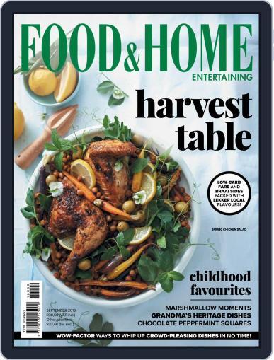 Food & Home Entertaining September 1st, 2018 Digital Back Issue Cover