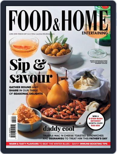 Food & Home Entertaining (Digital) June 1st, 2018 Issue Cover