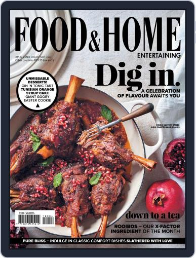 Food & Home Entertaining (Digital) April 1st, 2018 Issue Cover