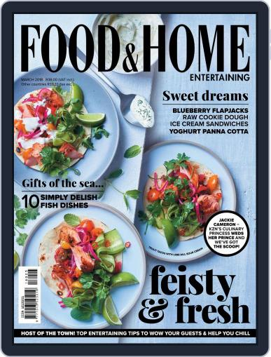 Food & Home Entertaining (Digital) March 1st, 2018 Issue Cover