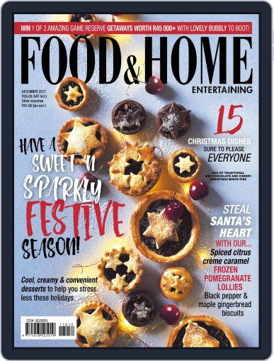 Food & Home Entertaining (Digital) December 1st, 2017 Issue Cover