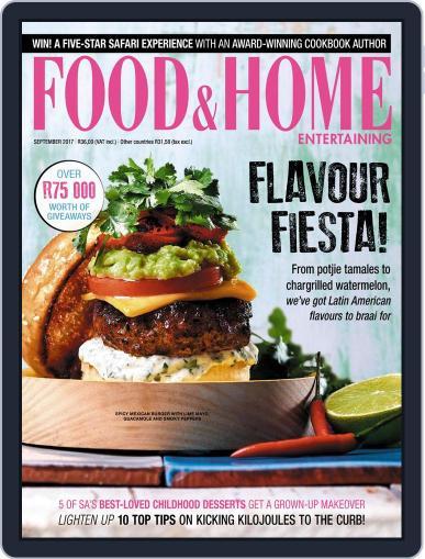 Food & Home Entertaining September 1st, 2017 Digital Back Issue Cover