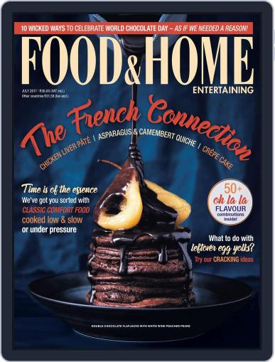 Food & Home Entertaining (Digital) July 1st, 2017 Issue Cover