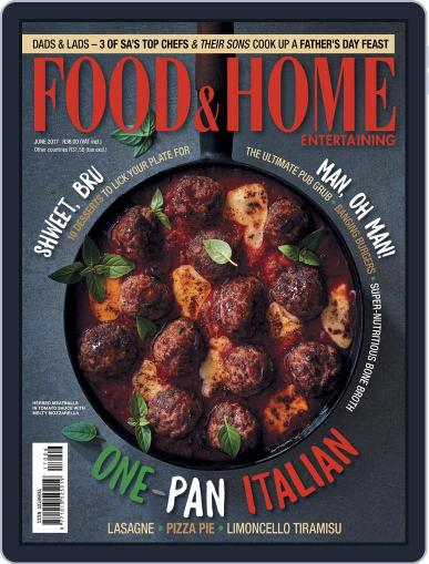 Food & Home Entertaining (Digital) June 1st, 2017 Issue Cover