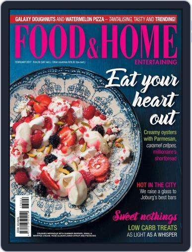 Food & Home Entertaining (Digital) February 1st, 2017 Issue Cover