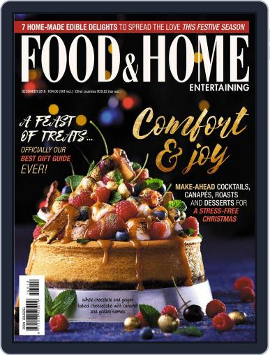 Food & Home Entertaining (Digital) December 1st, 2016 Issue Cover