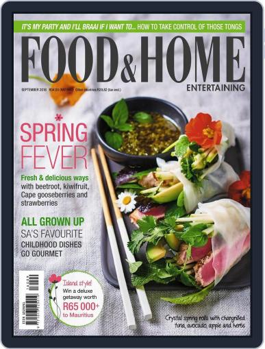 Food & Home Entertaining August 15th, 2016 Digital Back Issue Cover