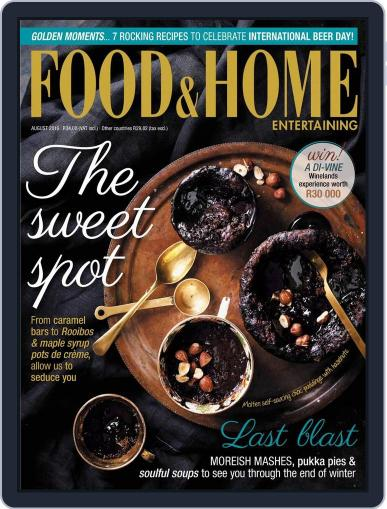 Food & Home Entertaining July 11th, 2016 Digital Back Issue Cover