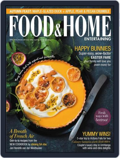 Food & Home Entertaining March 14th, 2016 Digital Back Issue Cover