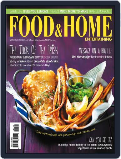 Food & Home Entertaining (Digital) February 15th, 2016 Issue Cover