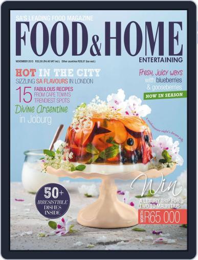 Food & Home Entertaining (Digital) November 1st, 2015 Issue Cover
