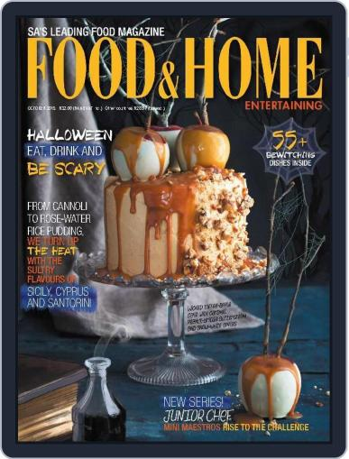 Food & Home Entertaining September 5th, 2015 Digital Back Issue Cover