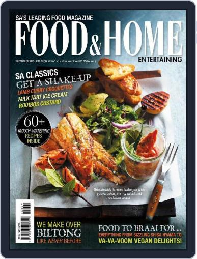 Food & Home Entertaining (Digital) September 1st, 2015 Issue Cover