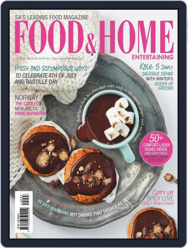 Food & Home Entertaining June 15th, 2015 Digital Back Issue Cover