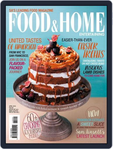 Food & Home Entertaining March 8th, 2015 Digital Back Issue Cover