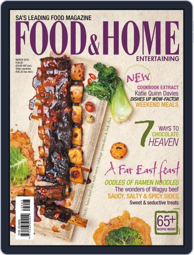 Food & Home Entertaining (Digital) February 28th, 2015 Issue Cover