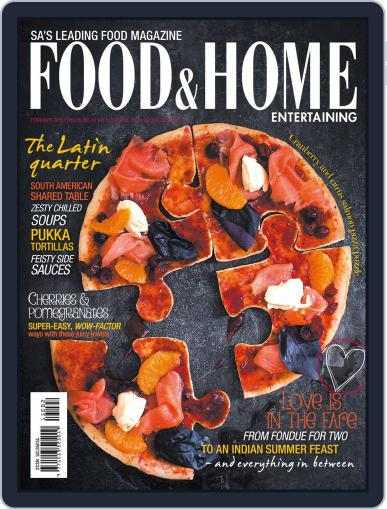 Food & Home Entertaining (Digital) January 31st, 2015 Issue Cover