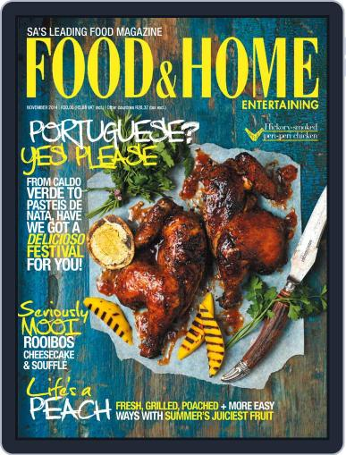 Food & Home Entertaining (Digital) October 12th, 2014 Issue Cover