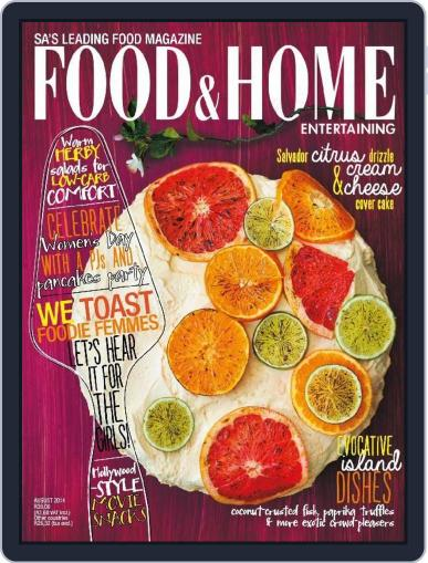 Food & Home Entertaining (Digital) July 31st, 2014 Issue Cover