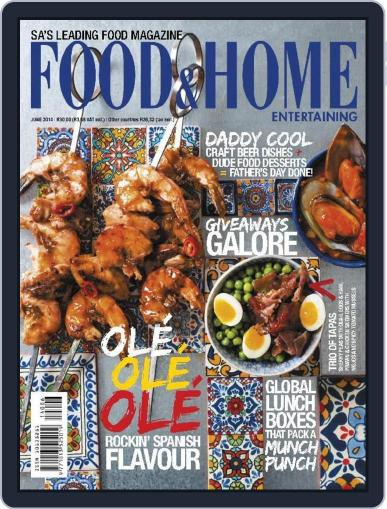 Food & Home Entertaining (Digital) May 31st, 2014 Issue Cover