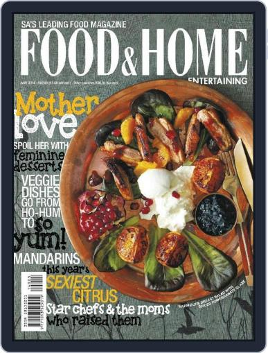 Food & Home Entertaining April 30th, 2014 Digital Back Issue Cover