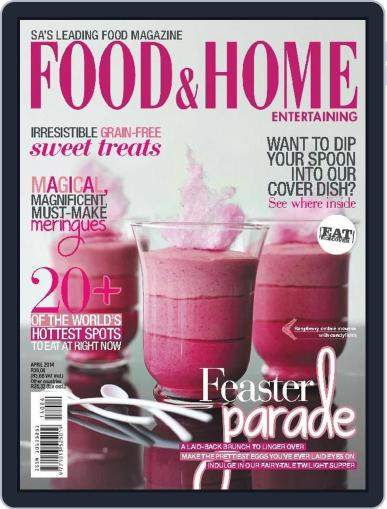 Food & Home Entertaining March 30th, 2014 Digital Back Issue Cover